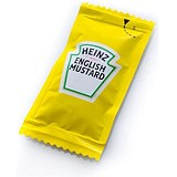 Image of Heinz English Mustard Sachets - Pack of 250