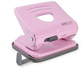 Image of Rapesco 825 2-Hole Punch / Pink / Punch capacity: 25 Sheets