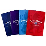 Oxford Campus Notebook / B5 / Soft Cover / Casebound / Assorted / Pack of 5