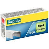 Image of Rapid 10/4mm Staples / Pack of 1000