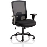 Sonix Heavy Duty Operator Chair - Black