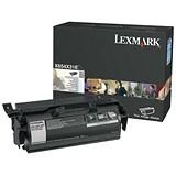 Lexmark X654 Toner Cartridge Return Program Page Life 6000pp Black Ref 0X654X31E
