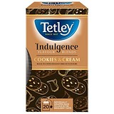 Tetley Indulgence Teabags / Cookies & Cream / String & Tag / 20 Bags