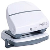 Image of Rapesco P30 2-Hole Punch / White / Punch capacity: 30 Sheets
