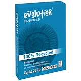 Image of Business Evolution A4 Recycled Paper / White / 80gsm / Ream (500 Sheets)