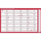 Sasco 2019 Oversized Year Planner / Unmounted / 1110x610mm