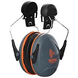 Image of JSP Sonis Compact Ear Defenders / Medium Attenuation / Helmet-mounted