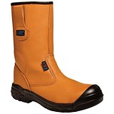 Image of Supertouch Rigger Boot Plus / Leather / Size 8 / Tan