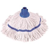 Image of Robert Scott & Sons Hygiemix T1 Socket Mop Cotton & Synthetic Yarn Colour-coded 250g Blue Ref YLTB250