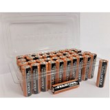 Image of Duracell Batteries Alkaline AAA Tub Ref AAADURB40T [Pack 40]