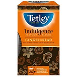Image of Tetley Indulgence Teabags / Gingerbread / String & Tag / 20 Bags