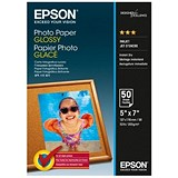 Image of Epson Premium Semi Glossy Photo Paper / 130x180mm / 200gsm / Pack of 50