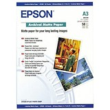 Epson A3 Archival Matte Paper / 192gsm / Pack of 50