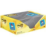 Post-it Note Value Display Pack - Dispenser with Pads / 76x127mm / Yellow / Pack of 20