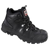 Rock Fall Peakmoor Hiker Boot / Size 8 / Black