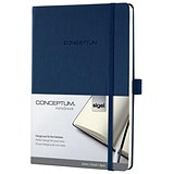 Sigel Concept Notebook / A5 / Hardcover / 194 Pages / Blue