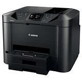 Image of Canon Maxify MB5455 Colour Inkjet Multifunction Printer WiFi 15ipm Black Ref 0971C028AA