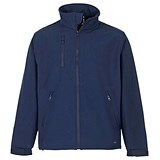 Image of Supertouch Verno Soft Shell Jacket / Breathable and Shower Proof / Navy / XXXL