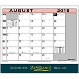 Image of At A Glance 2018 Memo Calendar