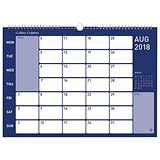 Image of Collins 2018 Wirebound Memo Calendar - Month to View