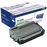 Image of Brother TN3520 Ultra High Yield Black Laser Toner Cartridge