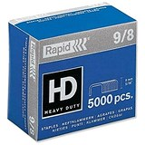 Rapid Heavy Duty 9/8mm Staples / Pack of 5000