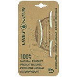 Linex Nature Protractor / 180 Degree / Biodegradable with Reverse Graduation / Clear