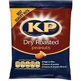 Image of KP Dry Roast Peanuts - Pack of 24 (50g)