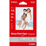 Canon Glossy Photo Paper / 100 x 150mm / 170gsm / White / 100 Sheets