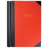 Collins 2019 Big Diary / 2 Pages to a Day / A4 / Red