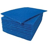 Image of Scouring Pads / 230x150mm / Blue / Pack of 20