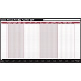 Sasco 2019 Annual Holiday Planner / Unmounted / 750x410mm
