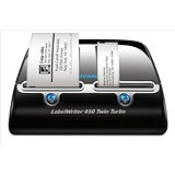 Image of Dymo Labelwriter 450 Twin Turbo USB with Software 71 per minute for 13 Types Labels Ref S0838910