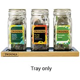 Twinings Kilner Glass Jar Tray