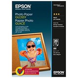 Image of Epson A4 Glossy Photo Paper / 200gsm / Pack of 20