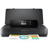 Image of HP OfficeJet 200 Mobile Printer Wireless Black Ref CZ993A