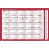 Sasco 2019 Compact Year Planner Landscape / Unmounted / 610x410mm