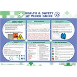 Wallace Cameron Health and Safety At Work Poster Laminated Wall-mountable W590xH420mm