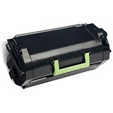 Lexmark 622H Toner Cartridge Return Programme High Yield Page Life 25,000pp Black Ref 62D2H00