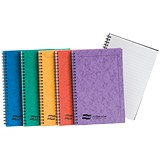 Europa Twinwire Notebook / Sidebound / A5 / 120 Pages / Assortment A / Pack of 10