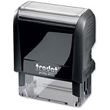 Image of Trodat Printy VC/4911 Self-Inking Custom Stamp - 38x13mm (Up to 4 Lines of Text)