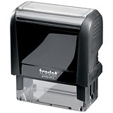 Trodat Printy VC/4913 Self-Inking Custom Stamp - 56x22mm (Up to 6 Lines of Text)