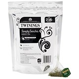 Image of Twinings Tea Luxury Pyramid Teabags / Simply Sencha / 40 Bags