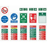 Image of Signs Starter Pack for Medium Sized Businesses [Pack 30]