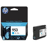 Image of HP 953 Cyan Ink Cartridge