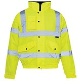 Image of Supertouch High Visibility Storm Bomber Jacket / Large / Yellow
