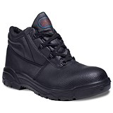 Image of Supertouch Chukka Boot / Leather / Size 7 / Black