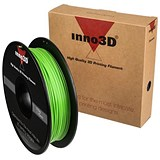 Image of Inno3D ABS Filament for 3D Printer 1.75x200mm 0.5kg Green Ref 3DPFA175GN05