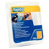 Rapid Multipurpose Glue Sticks / 125g / Pack of 50