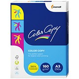 Color Copy A3 Paper / White / 160gsm / 250 Sheets